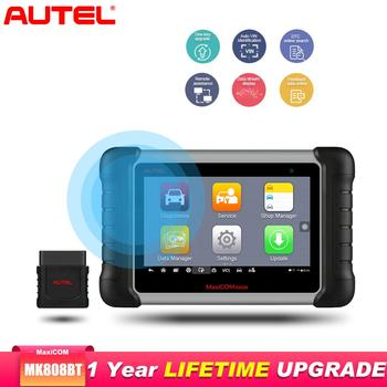 Autel MaxiCOM MK808BT OBD2 Scanner Car Diagnostic Tool Diagnostic Auto Scanner of EPB/IMMO/DPF/SAS/TMPS better than launch x431