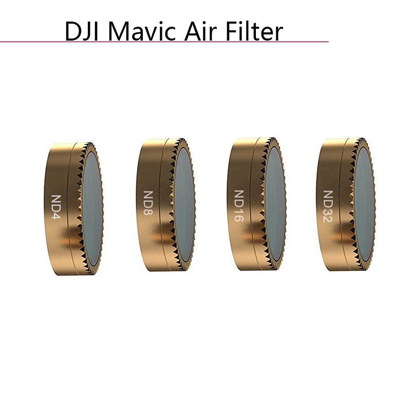 DJI Mavic Air Lens Filter CPL Polarizing ND Neutral Density Filter Kits ND4 ND8 ND16 2 In 1 ND-PL Camera Drone Parts Accessories
