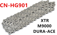 Shimano HG601 chain CN HG701 hg901 Ultegra 11 Speed Chain 5800 R8000 XT M8000 Road Mountain cycling bicycle Chains