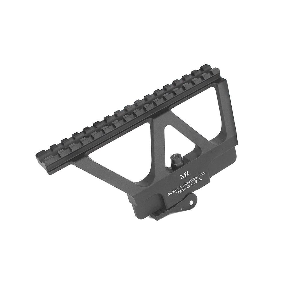 Fixation rapide du Rail de pistolet AK support de la portée Weaver Picatinny fixation du Rail latéral pour AK47 AK74 accessoires de portée de fusil de chasse gz220231
