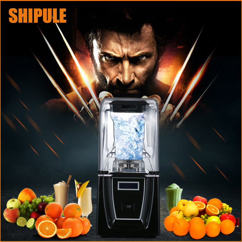 Fully automatic commerical Ice Cream Maker Slush Machine Cold Drink Dispenser Smoothies Machine with Ice Cream Machine free shipping 2017 new slush machine 15l 2 cold drink dispenser snow melting machine ice slush smoothies machine