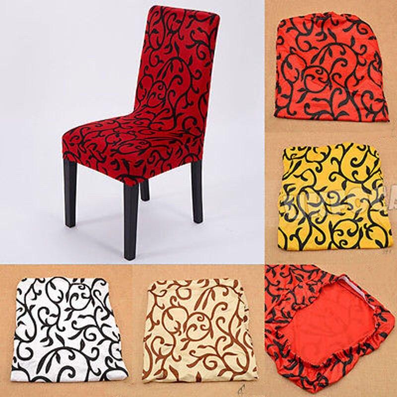 Initiatief Moderne Creatieve Nieuwe Klassieke Stretch Korte Verwijderbare Eetkamerstoel Cover Kruk Afdrukken Home Hoge Kwaliteit