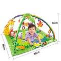 Floresta Atividade Bebê Esteira do Jogo Música Som Luz Ginásio Bebê Educacional Brinquedos Do Bebê Jogo Quadro Aptidão Multi-suporte Esteiras