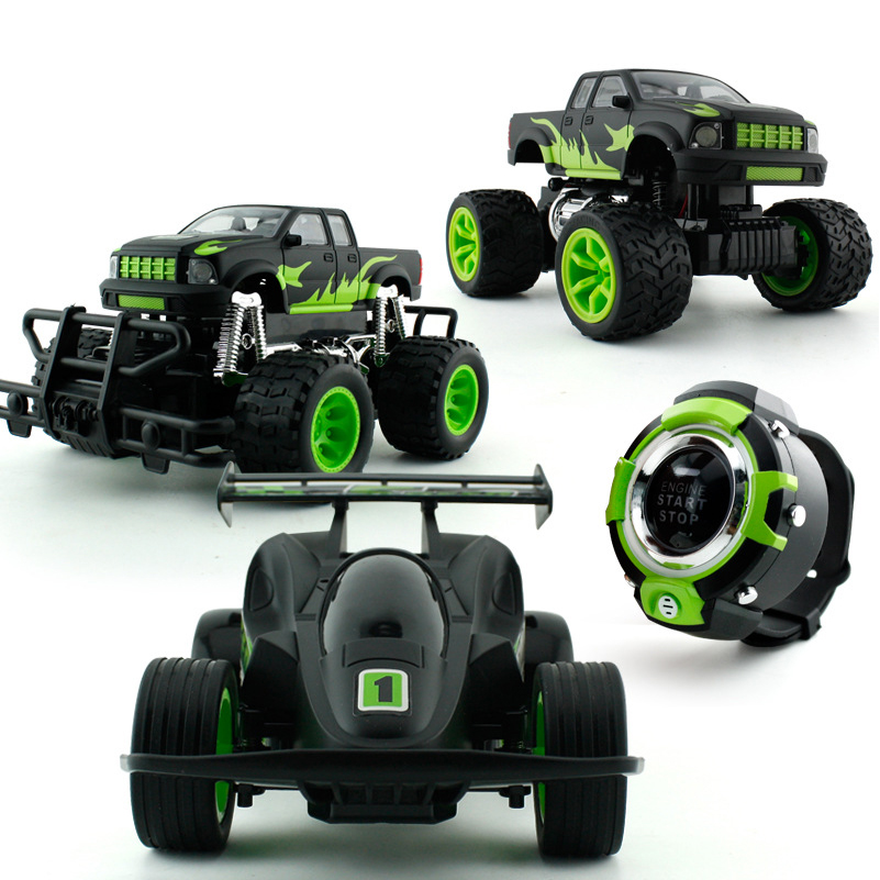 New Sound Control RC Car Creative Sound Drive RC Car with Light Toys Remote Control Toys Cars For Children Gifts