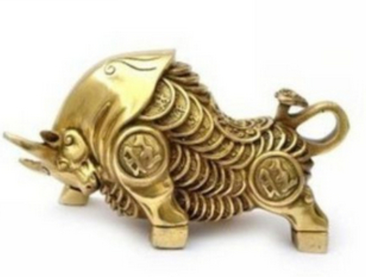christmas decorations for home+ Metal Crafts china ornaments home decor feng shui brass cow sculptures