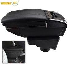 Storage Box Armrest For VW Vento Jetta Mk5 2006 2011 VW Golf Mk6 2008 2014 Center Centre Console Arm Rest Rotatable 2009 2010