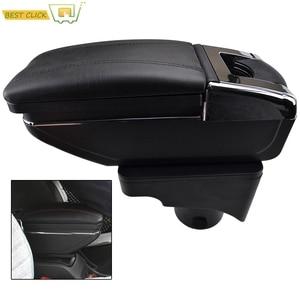 Image 1 - Storage Box Armrest For VW Vento Jetta Mk5 2006 2011 VW Golf Mk6 2008 2014 Center Centre Console Arm Rest Rotatable 2009 2010