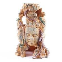 Creative Resin Craft Skull Statue&Sculpture Ornament Aquarium Decoration Fashion Fish Tank