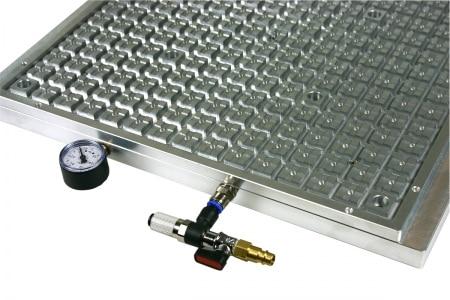 Aluminum alloy vacuum fixture vacuum table vacuum adsorption table VT2020RAL-V 200X200 цена