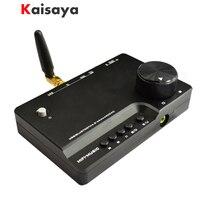 Mini HiFi Bluetooth 4.2 Audio USB SA9023 AKM4490 DAC PC Sound Card Car Headphone Amp U disk TF Player T0182