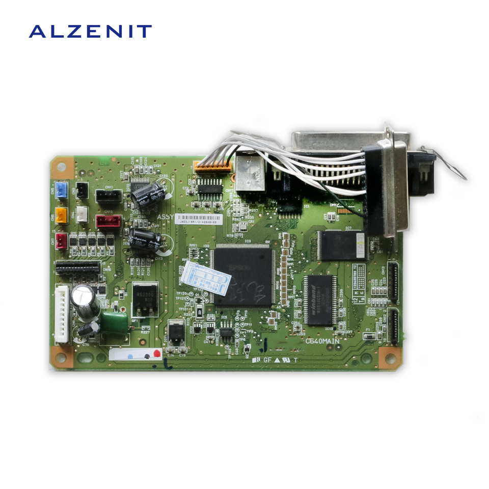 GZLSPART For Epson LX300+II LX300+2 Original Used Formatter Board  Printer Parts On Sale  alzenit for epson lq 300k 2 300k ii lq 300k ii lq300 ii lq300 2 original used formatter board printer parts on sale