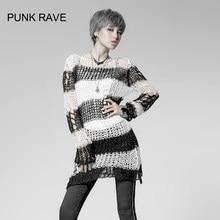 Zwarte Trui Met Witte Strepen.White And Black Stripes Sweater Promotie Winkel Voor Promoties White