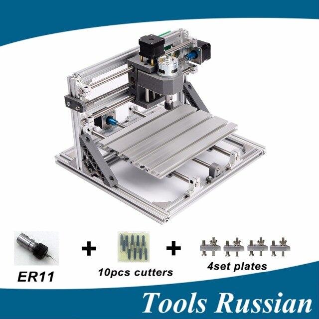 Only Russia ,CNC 2418 ER11,diy mini cnc laser engraving machine,Pcb Milling Machine,Wood Carving machine,cnc router,cnc2418,toys