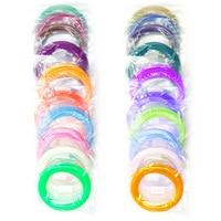 100 Meters 20 Colors ABS Filament 1.75mm for 3D Pen 3D Printer 3D Printing Materials Consumable 5 Meters in Vacuum Package