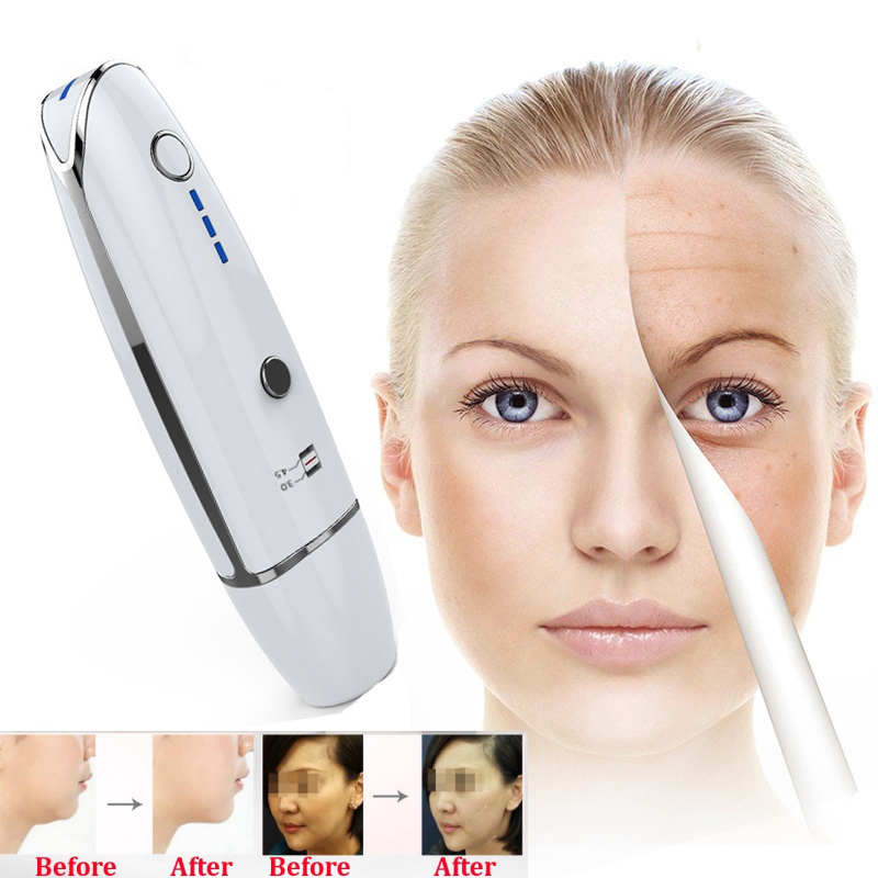 Mini HIFU Theory Anti Aging Skin Face Lift RF LED Anti Wrinkle Skin Care Spa Beauty