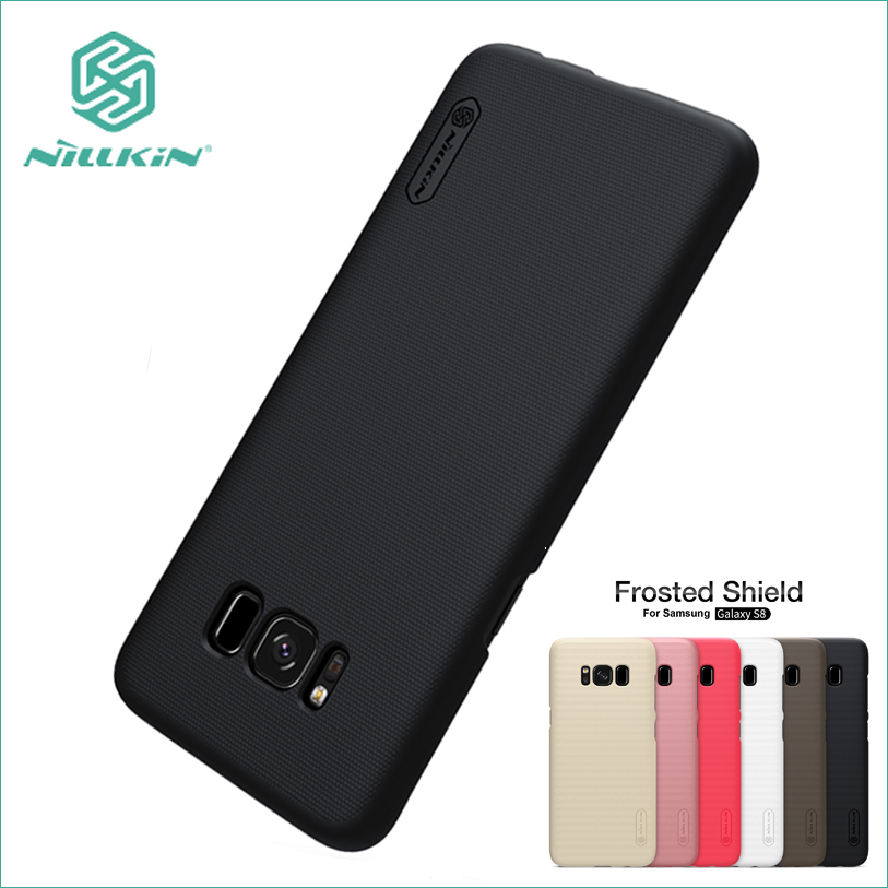 Para Samsung Galaxy S8 Funda NILLKIN Hight Quality Super Frosted Shield para Samsung Galaxy S8 5.8 pulgadas