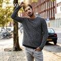 Мужской свитер SIMWOOD MT017026  повседневный трикотажный свитер из цветной шерсти для осени и зимы  2019