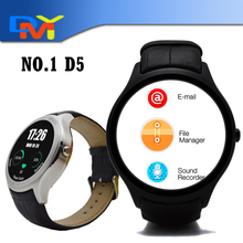 Neueste Upgrade-Version NO. 1 D5 Uhr Bluetooth Smartwatch Smart Band Digitaluhr Begleiter iOS Android Unterstützung GPS Herzfrequenz