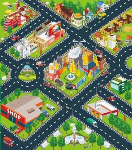 70*80 см нетканых Ковры детские игрушки Speedway/фермер Ползания Ковры коврики Коврики