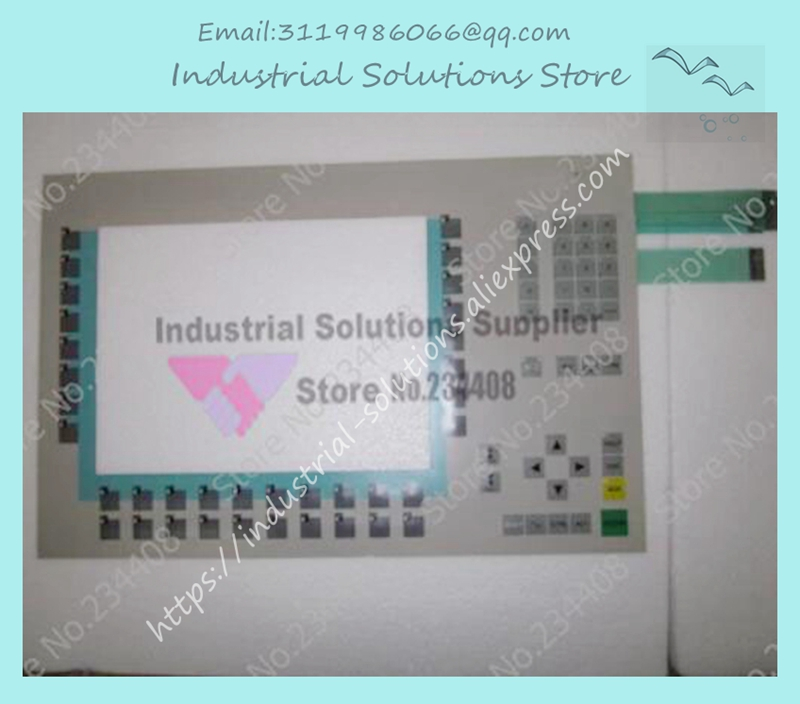 NEW MP377-12KEY 6AV6644-0BA01-2AX1 keysters panel membrane switch 6fc5247 caa11 1aa3 keysters mask operation panel