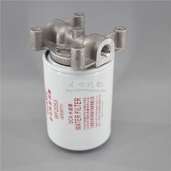 Mesin mobil filter oli perakitan untuk WF2053 shangchai D6114 3305369 4058965 elemen filter Air perakitan
