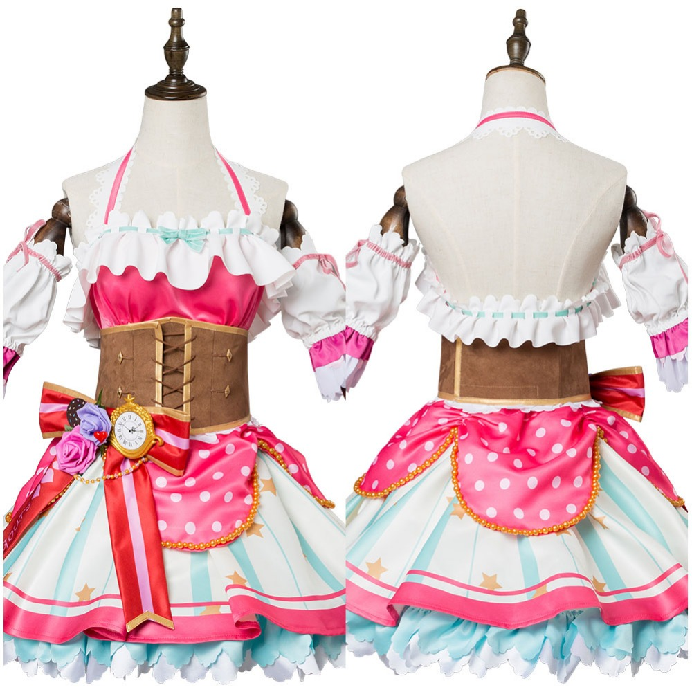 Love Live! Sunshine!! Ruby Kurosawa Cosplay Costume Valentine's Day Dress Full Sets