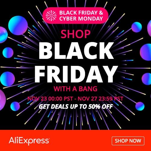 AliExpress Black Friday & Cyber Monday Sale 2018