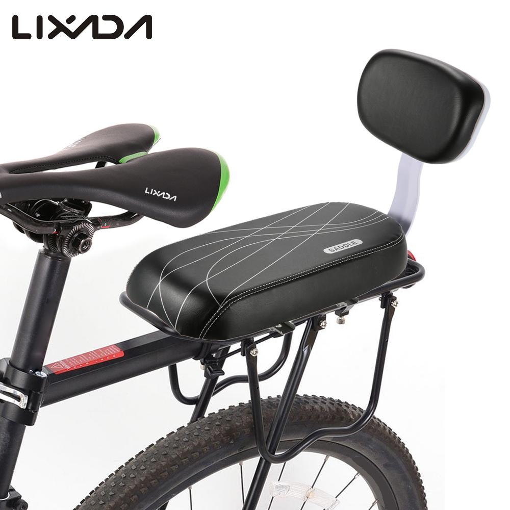 Bicycle Child Seat Pu Leather Cover Bike Rack Cushion For
