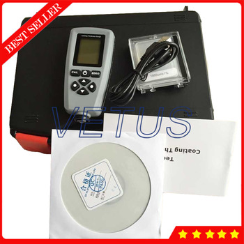 EC770 0~1300um Measuring range Digital Coating Thickness Gauge With FE/NFE Probe High Accuracy Paint Thickness Meter Tester