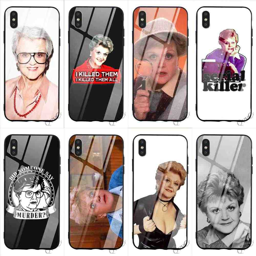 Jessica Fletcher iphone case