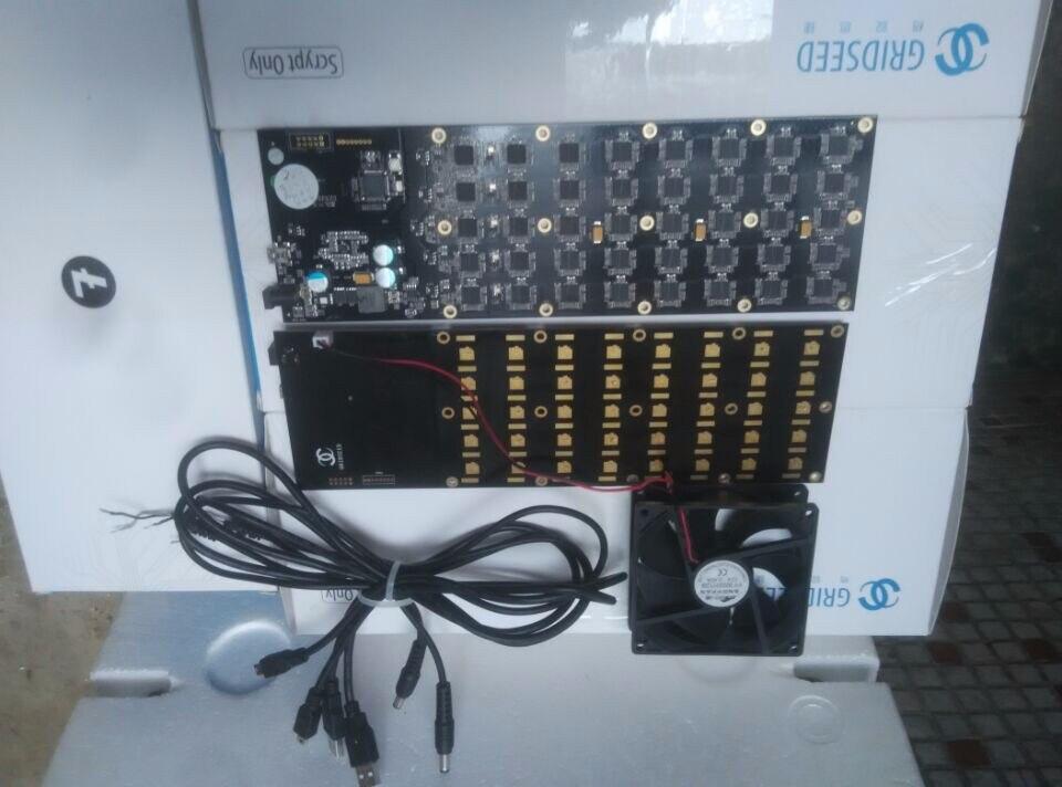 Heißer Block Kette/miner Yunhui Bergbau Industrie Verkauf Verwendet Gridseed 3-5mh100w Usb Miner Scrypt Miner Litecoin Minning Maschine Mit Lüfter äSthetisches Aussehen