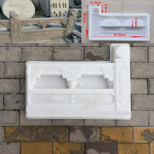 DIY White Garden Concrete Fence Mold Garden Flower Pool Plastic Mold Brick Courtyard Antique Flower Pond Paving Molds