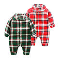 The newborn baby clothes infant romper long sleeved climbing clothes
