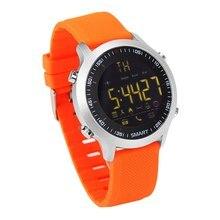 Elegante Reloj 5ATM Impermeable Bluetooth 4.0 Pasómetro Espera Ultra-largo Al Aire Libre de Natación Deporte Smartwatch para Android ios Teléfono