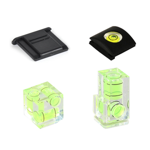 Universal 3-Axis Hot Shoe Fixed Bubble Spirit Level 3D Spirit Level For Canon Nikon Pentax DSLR Camera Photography Accessories(China)