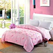 LAGMTA new 1 pc 100% Polyester Duvet Cover Pastoral Style Active Printing sets Hot Queen Twins Quilt Cover can be customized