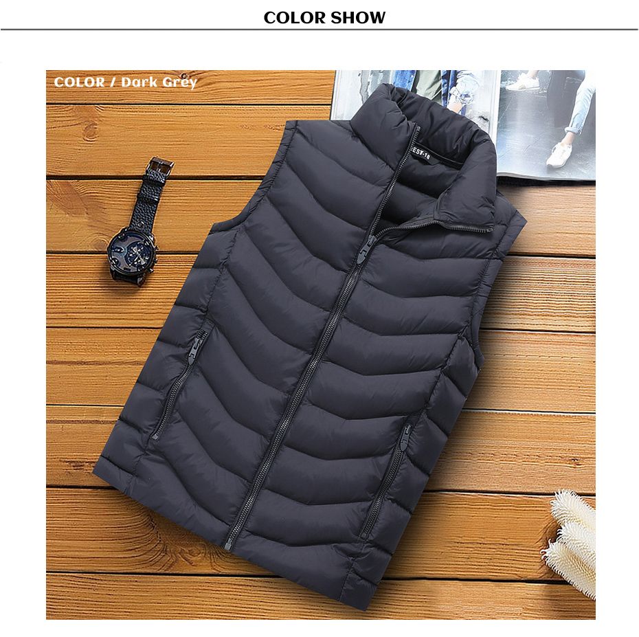men winter vest