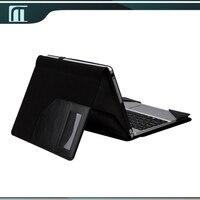 Nieuwe tablet toetsenbord case voor acer aspire schakelaar 10.1 inch pu lederen stand case cover pouch tablet tas + screen bescherming film
