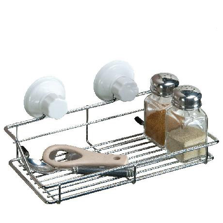 magie sucker metalen badkamer afdruiprekken, keuken kruiden mand ...