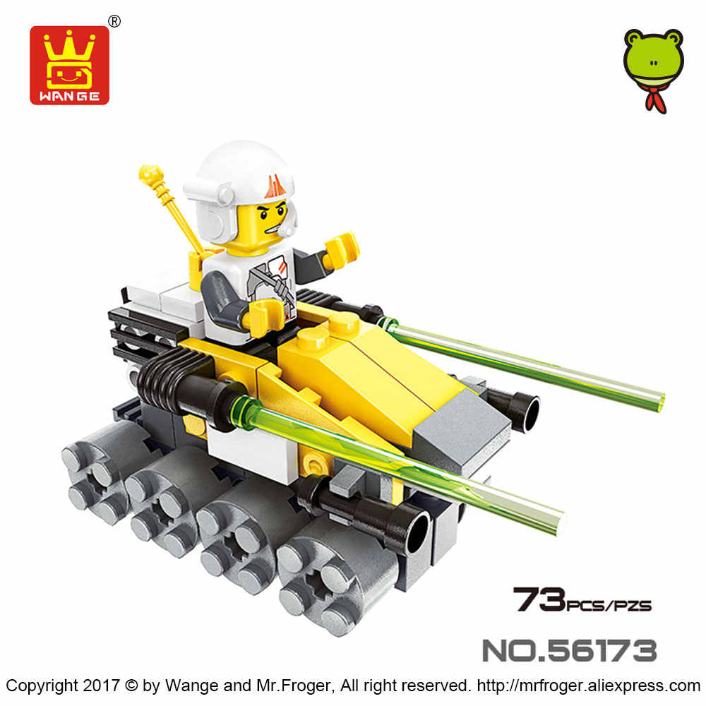 WANGE Bricks Compatible Toys Building Blocks Military Toy Set X-wing Starfighter Turbo Tank Scout Assembly Educational Toys Boy