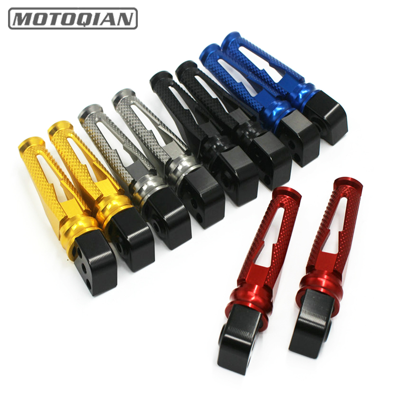 For Suzuki GSXR1300 Hayabusa 08-18 GSX1300 B-KING SFV650 GSF650 Moto Parts CNC Aluminum Rear Footrests Foot pegs PedalsFor Suzuki GSXR1300 Hayabusa 08-18 GSX1300 B-KING SFV650 GSF650 Moto Parts CNC Aluminum Rear Footrests Foot pegs Pedals