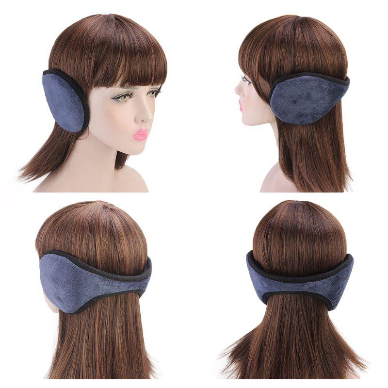Winter Outdoor Ear Muff Cover Short Plush Warmer Unisex Earlap EY