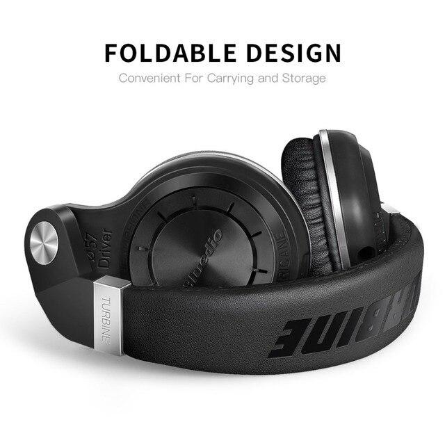 wireless  Bass Bluetooth headset earphones for music phone Bluedio Bluetooth headphones foldable  BT 4.1
