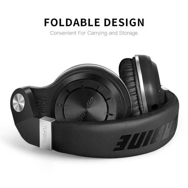 Bluedio T2S Bluetooth headphones foldable wireless headset with microphone for music android phone accessory comfortable to wear