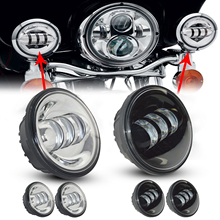 2pcs Car 4.5INCH 4-1/2″ 30W Car LED Fog Passing Auxiliary Spot Light For Harley