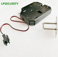 Lpsecurity 8ピースあたりパックdc 12ボルト電気錠耐震盗難防止電磁ロック用ファイルキャビネット収納