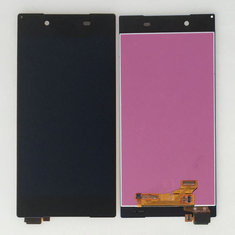 5.2'' Touch Digitizer LCD Screen Display Assembly For Sony Xperia Z5 E6683 E6653 E6603 Black black lcd display touch screen digitizer assembly for sony xperia z2 d6502 d6503 d6543 l50w