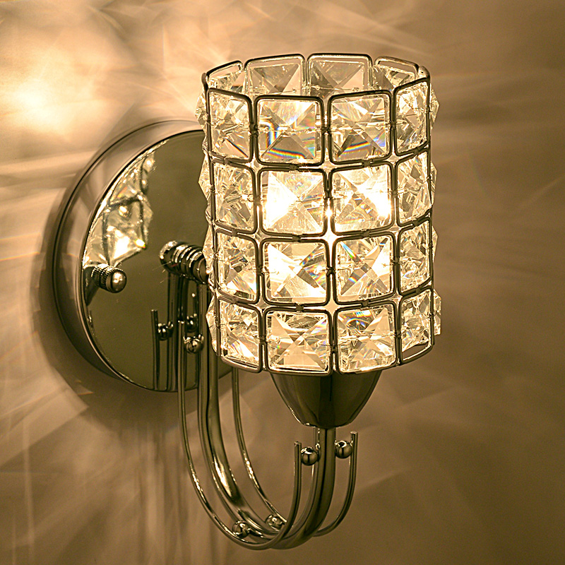 ?Modern Crystal Torch ? Bedroom Bedroom Bedsides Wall Lamp Corridor Balcony Hallway ?? ?? Wall ...