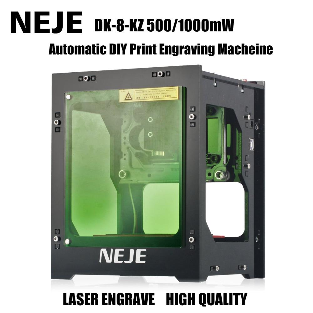NEJE 1000mW Laser Engraving Machine Laser Cnc Crouter DIY Print 3D Engraver Engraving Machine цена