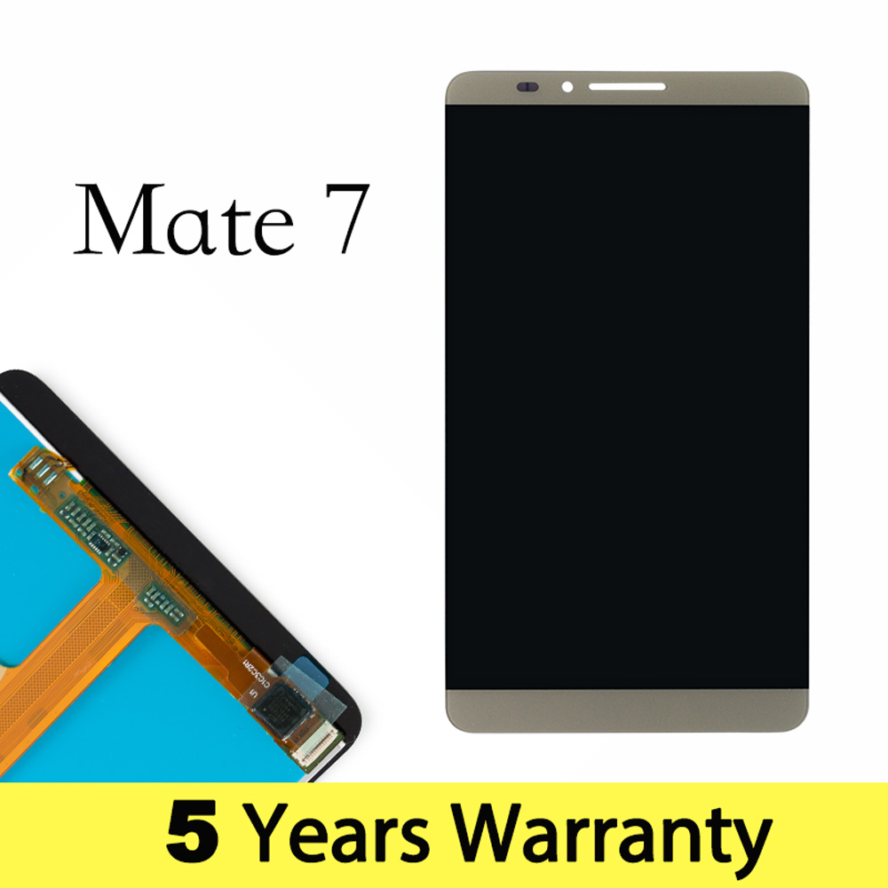 Mobile Phone Lcd For Huawei Mate 7 Display Replacement MT7 MT7-TL10 MT7-UL00 Display For Huawei Mate 7 Touch Screen Mt7-L09